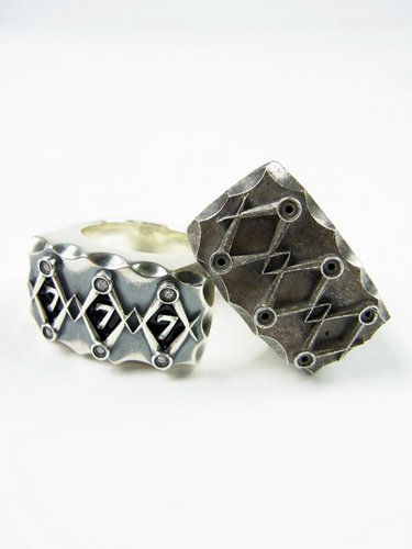 Varde77×THEFT / LUCKY NUMBER RING