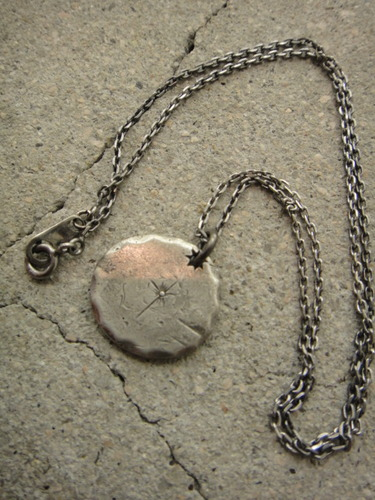 Varde77×THEFT / FLOWER NATIVE MEDAL NECKLACE
