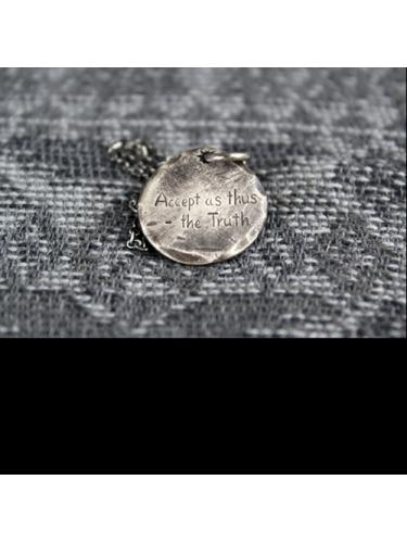 Varde77×THEFT / MESSAGE NATIVE MEDAL NECKLACE