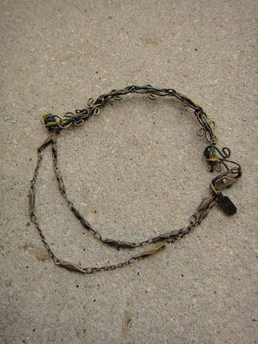 Varde77×THEFT / THREAD MIX BRACELET