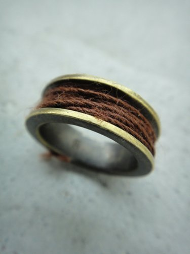 Varde77×THEFT / THREAD RING